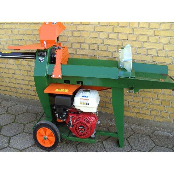 Brændekløver med benzinmotor